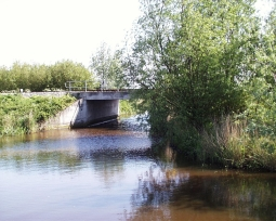 Spoorbrug over Visvlieterdiep
